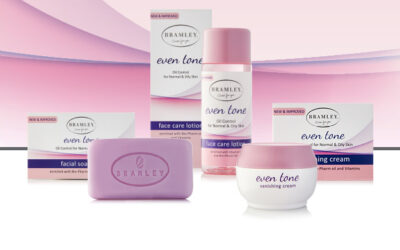How to use Bramley's Even tone Face Care Range